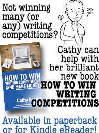 Ad for Cathy's book